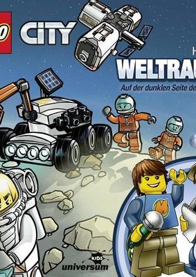 """Auf der dunklen Seite des Mondes: Wir verlosen das Hörspiel """"Lego City 23: Weltraum"""" auf CD"""