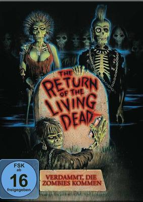 "Brains...: Wir verlosen den Zombie-Klassiker ""Return of the living Dead - Verdammt, die Zombies kommen"" als Steelbook BD"