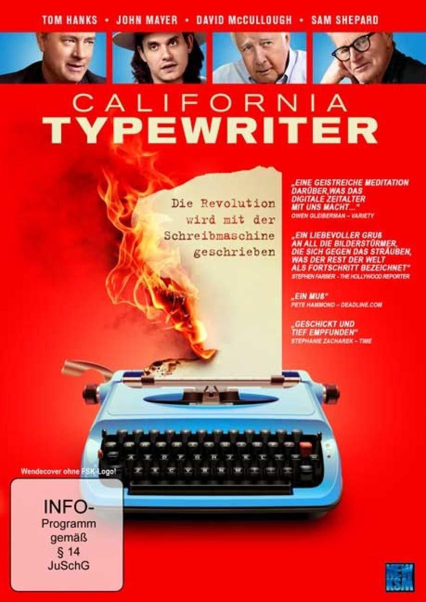 """Der Kampf gegen die High-Tech-Welt: Wir verlosen die Dokumentation """"California Typewriter - Die Revolution wird mit der Schreibmaschine geschrieben"""" auf DVD"""