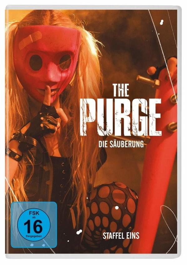 """Masken im Blutrausch: Wir verlosen die erste Staffel von """"The Purge - Die Säuberung"""" auf DVD"""