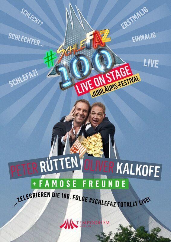 SchleFaZ wird 100: Wir verlosen tolle Ticket-Pakete für das Jubiläums-Festival am 28.09. in Berlin