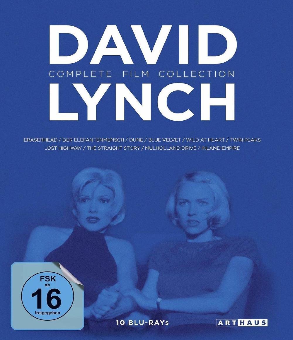 Meister des Unheimlichen: Wir verlosen die David Lynch / Complete Film Collection auf BD