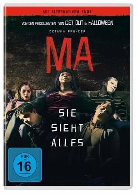 """Alle sind Willkommen: Wir verlosen den Horrorfilm """"Ma - Sie sieht alles"""" auf DVD"""