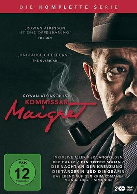 """Rowan Atkinson als Kriminalist: Wir verlosen """"Kommissar Maigret - Die komplette Serie"""" auf DVD und BD"""