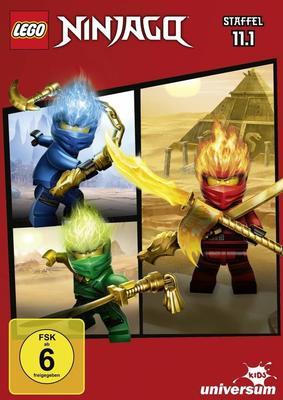 """Der Lego-Spaß geht weiter: Wir verlosen zu """"Lego Ninjago - Staffel 11.1"""" eine DVD sowie die passenden Hörspiele"""