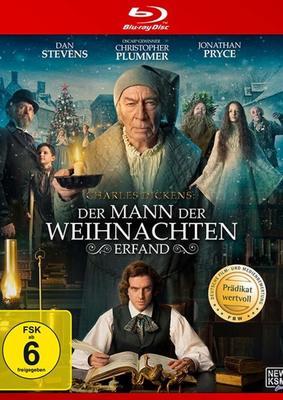 """Geist der Weihnacht: Wir verlosen das Weihnachtsmärchen """"Charles Dickens: Der Mann der Weihnachten erfand"""" auf BD"""