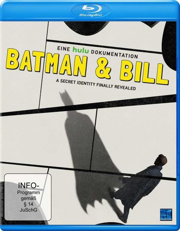"""Eine geheime Identität gelüftet: Wir verlosen die Dokumentation """"Batman & Bill"""" auf BD"""