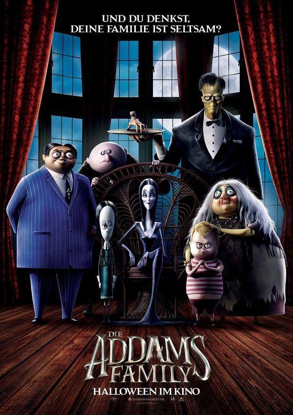 """Eine schrecklich schräge Familie: Wir verlosen zum Start von """"Die Addams Family"""" ein tolles Fan-Paket"""