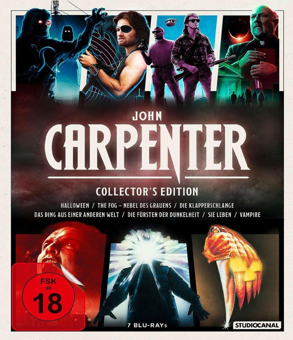 """Meisterwerke in Hülle und Fülle: Wir verlosen die """"John Carpenters Collection"""" auf BD"""