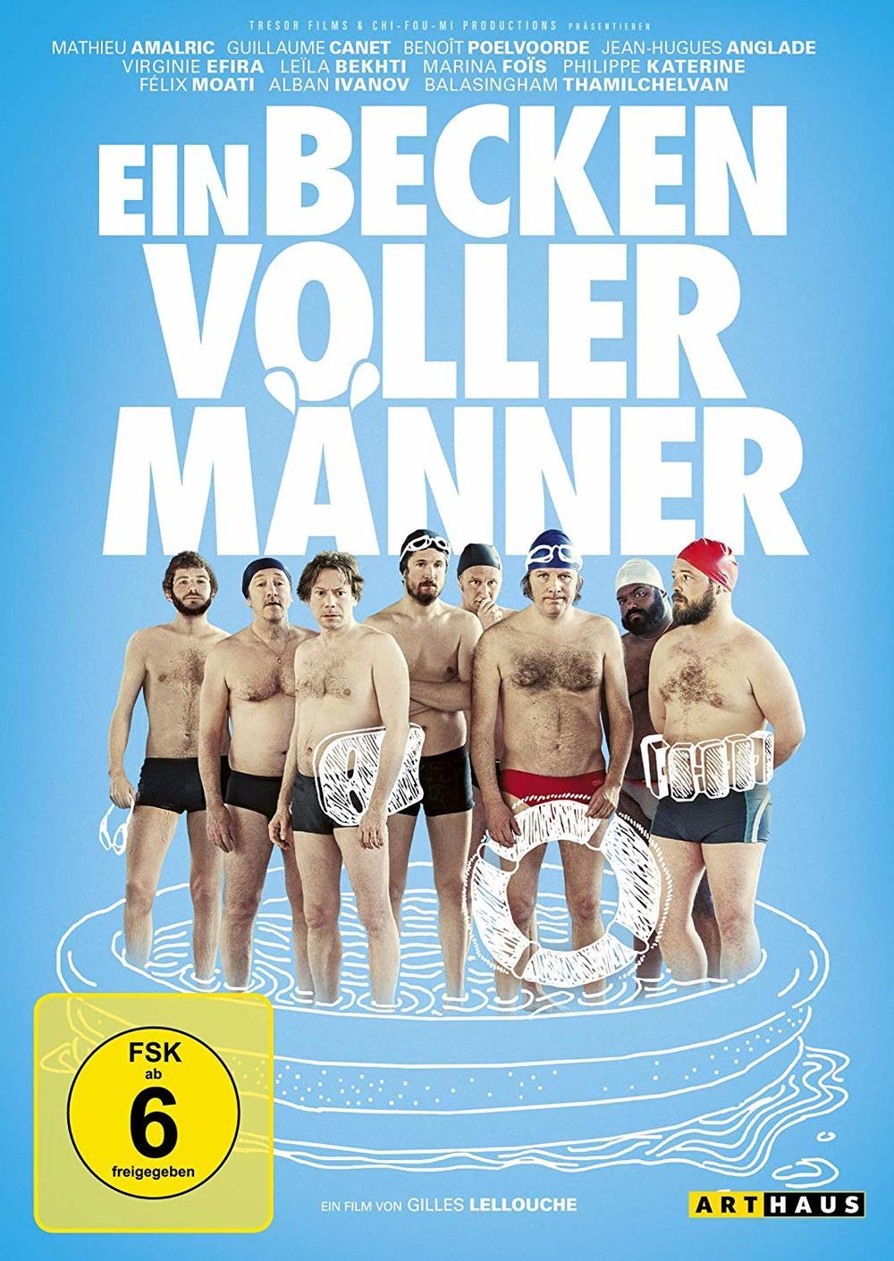 """Wir verlosen die Komödie """"Ein Becken voller Männer"""" auf DVD und BD"""