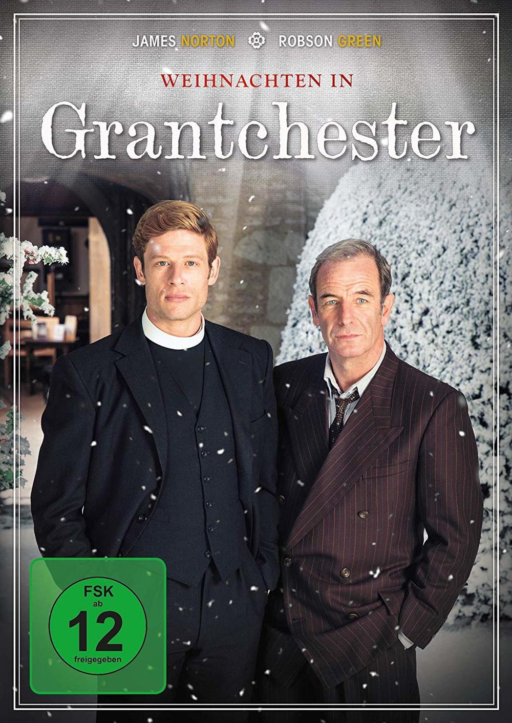 """Christmas Special: Wir verlosen """"Grantchester - Weihnachten in Grantchester"""" auf DVD"""