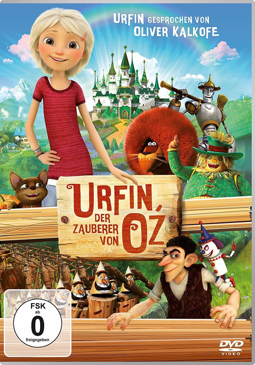 """Wir verlosen DVDs und Beutel zum Animationsfilm """"Urfin - Der Zauberer von Oz"""""""