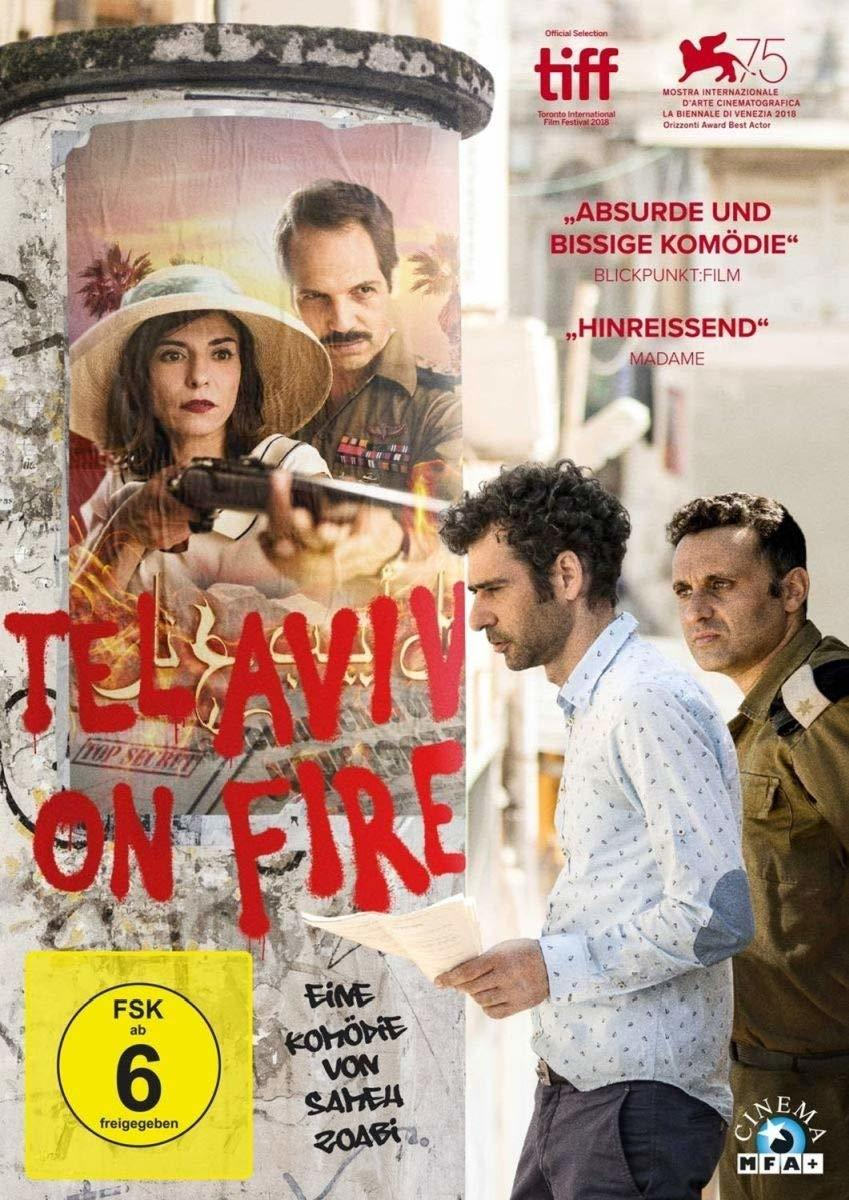 """Vorsicht, bissig: Wir verlosen die treffsichere Komödie """"Tel Aviv on Fire"""" auf DVD"""