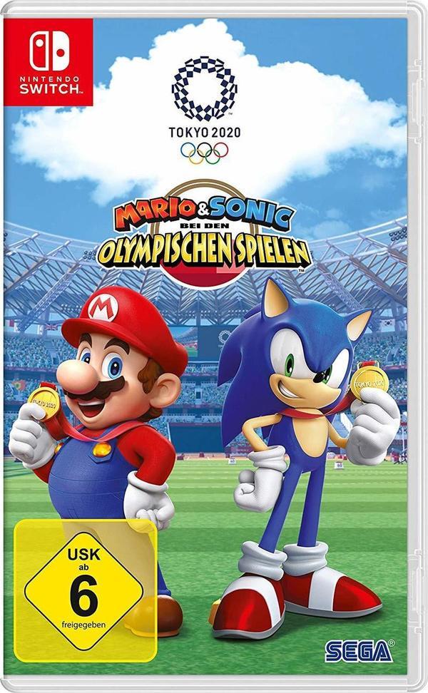 """Jetzt wird's sportlich: Wir verlosen das Videospiel """"Mario & Sonic bei den Olympischen Spielen: Tokyo 2020"""" für Nintendo Switch!"""