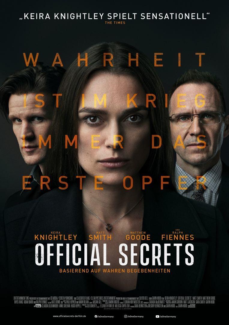 """Suche nach Wahrheit: Wir verlosen zum Kinostart von """"Official Secrets"""" Freikarten"""