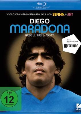 """Rebell. Held. Gott.: Wir verlosen die Sport-Biografie """"Diego Maradona"""" auf BD"""