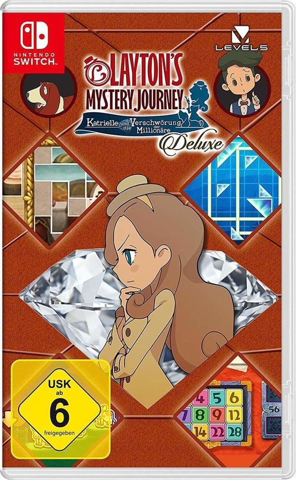 """Gewinnt zum Release von """"Layton's Mystery Journey: Katrielle und die Verschwörung der Millionäre - Deluxe"""" für Nintendo Switch das Spiel & die Blu-Ray!"""
