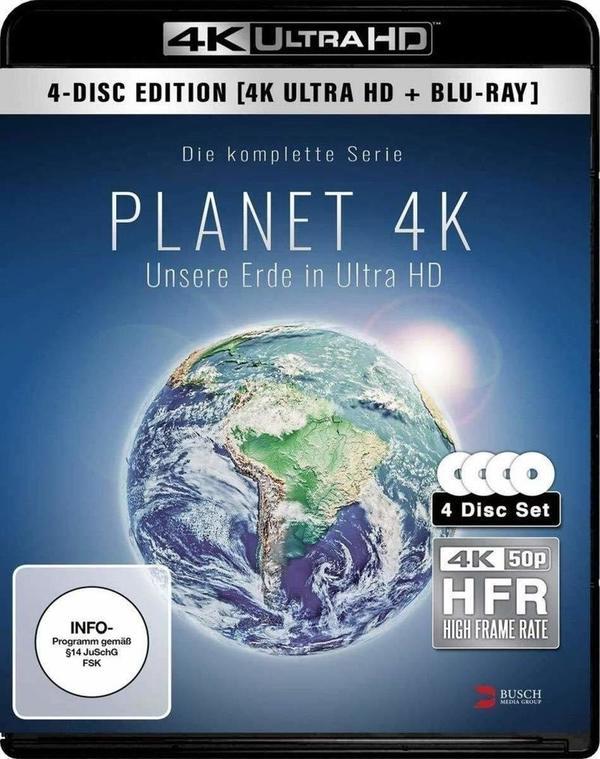 Die Schönheit der Erde in 4K: Wir verlosen Planet 4K - Unsere Erde in Ultra HD