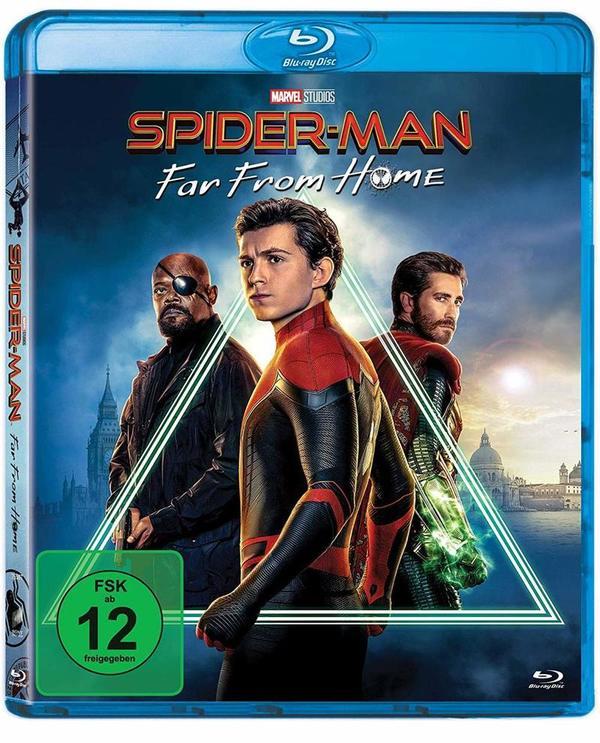 """Spider-Man auf großer Fahrt: Wir verlosen das Marvel-Abenteuer """"Spider-Man: Far From Home"""" auf BD"""