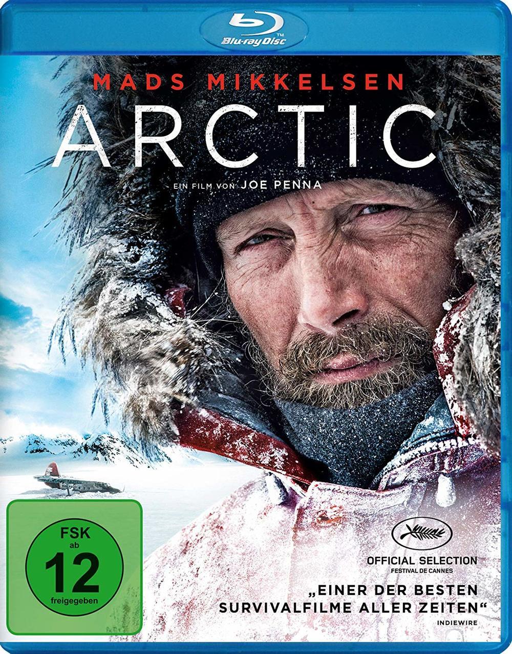 """Gegen die Kälte: Wir verlosen das eiskalte Abenteuer-Drama """"Arctic"""" auf BD"""