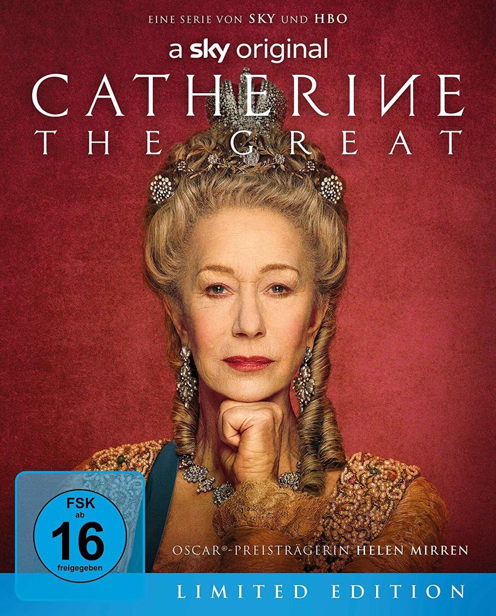 """Die mächtigste Frau des Landes: Wir verlosen die Mini-Serie """"Catherine the Great"""" als Limited Edition BD"""