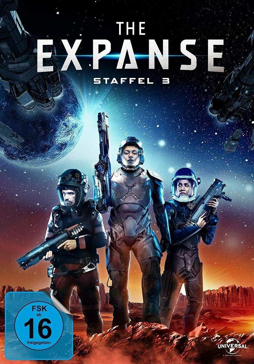 """Der Kampf um die Zukunft geht weiter: Wir verlosen die dritte Staffel der Sci-Fi-Serie """"The Expanse"""" auf DVD oder BD"""