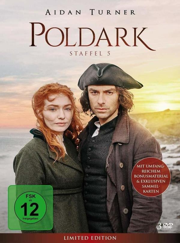 """Zukunft und Vergangenheit: Wir verlosen die komplette fünfte Staffel von """"Poldark"""" auf BD und DVD"""