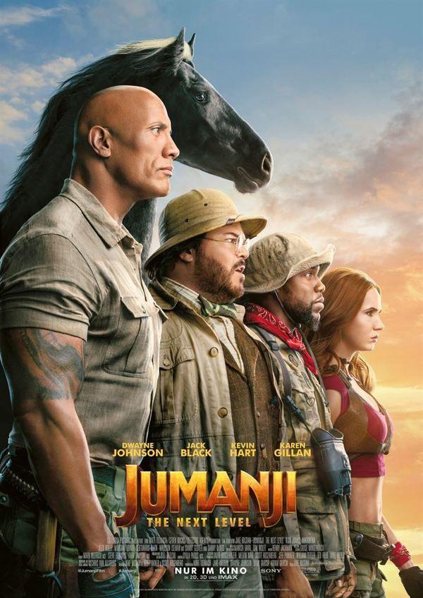 """Das Spiel geht weiter: Zum Kinostart von """"Jumanji: The Next Level"""" verlosen wir ein tolles Fan-Paket"""