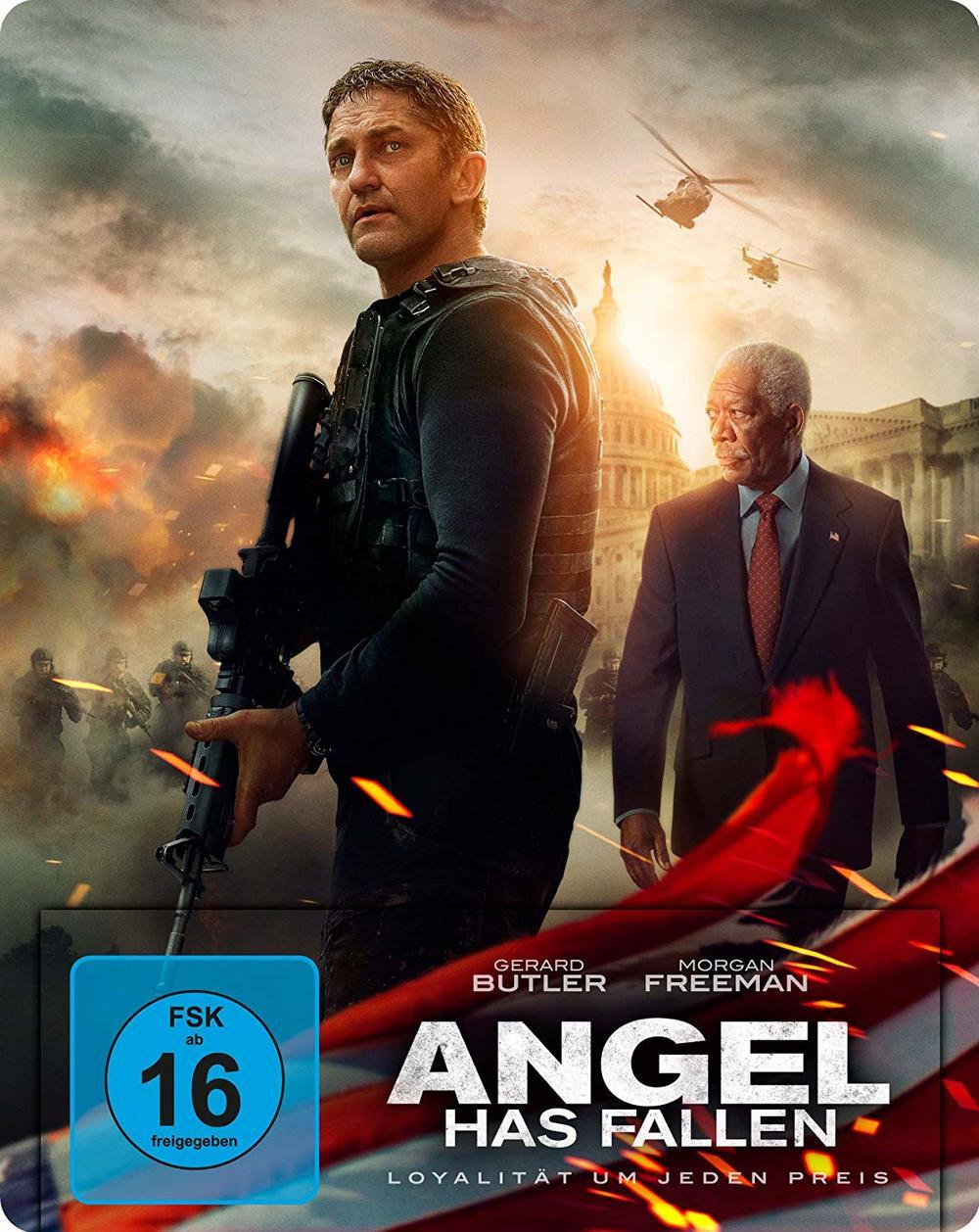 """Explosiv: Wir verlosen den Action-Hit """"Angel Has Fallen"""" als Steelbook BD"""