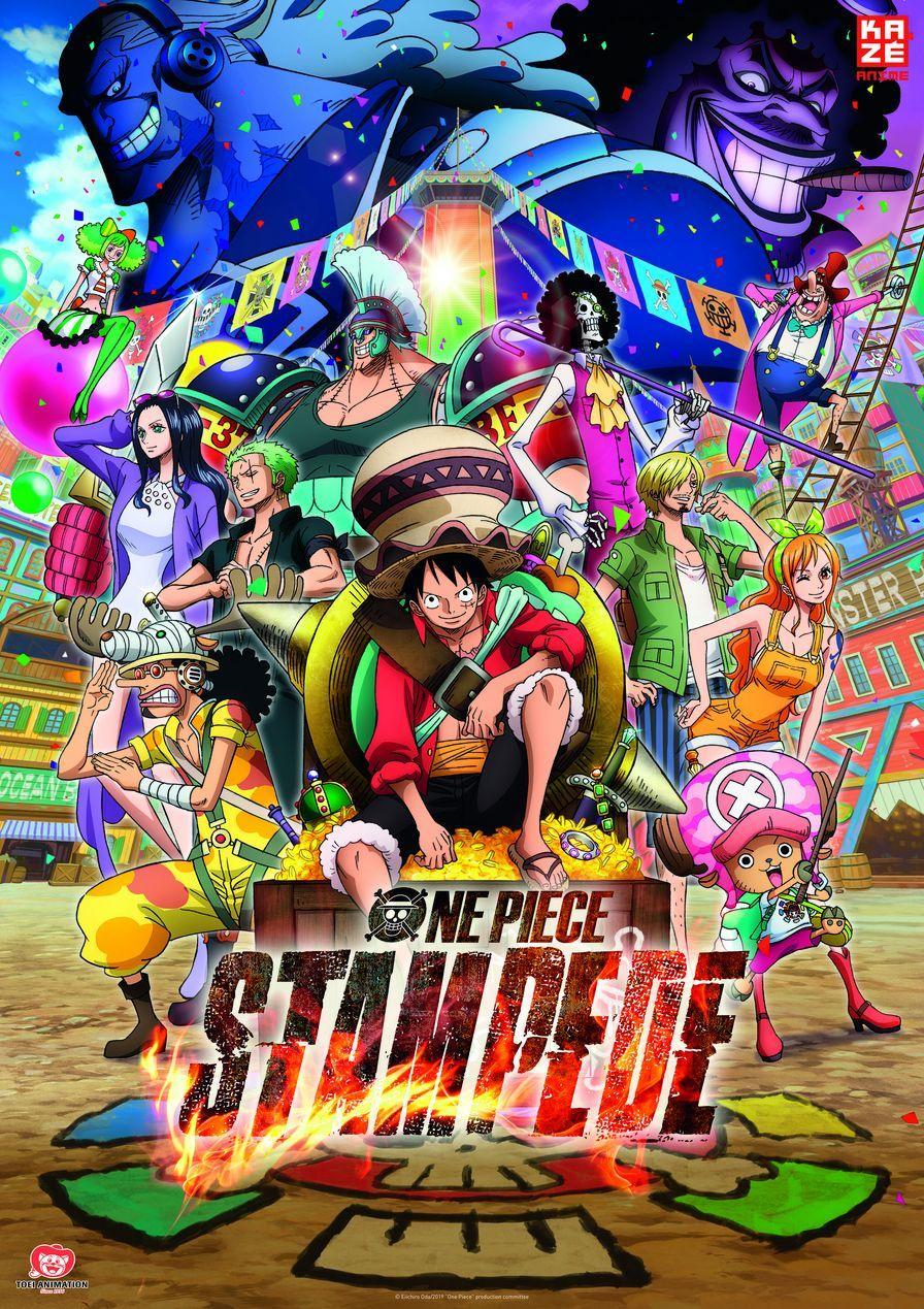 "Kazé Anime Night: Gewinnt zum Kino-Highlight ""One Piece Stampede"" am 28.01. Kinokarten"