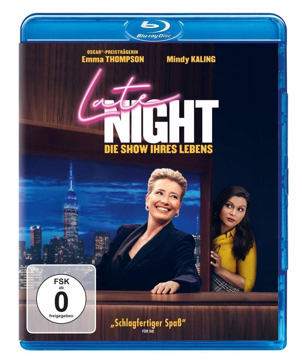 """Smart und bissig: Wir verlosen das Comedy-Drama """"Late Night - Die Show ihres Lebens"""" auf BD"""