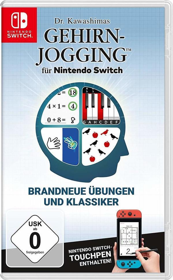 Wir verlosen zweimal Dr. Kawashimas Gehirn-Jogging für Nintendo Switch!