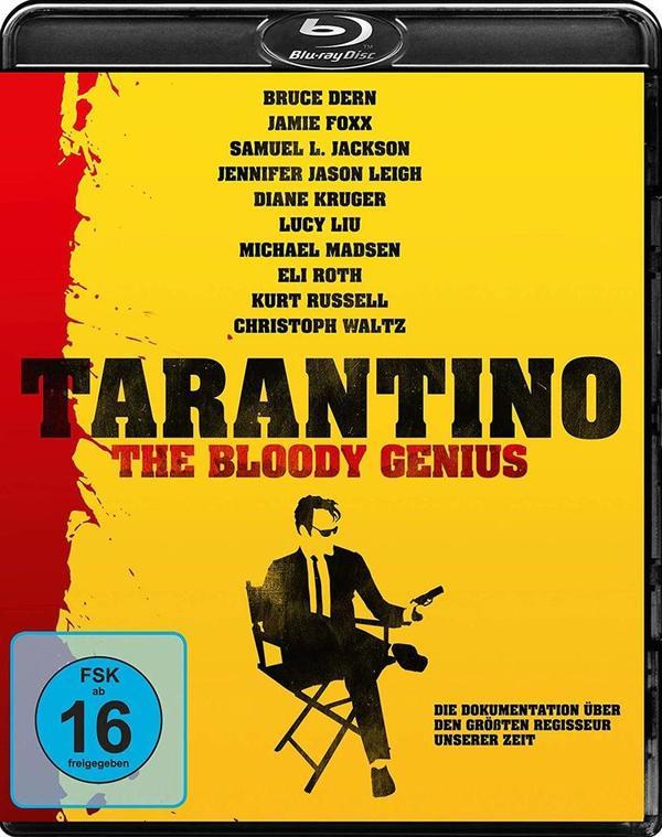 """Der Blick auf ein Genie: Wir verlosen die Dokumentation """"Tarantino - The Bloody Genius"""" auf BD"""