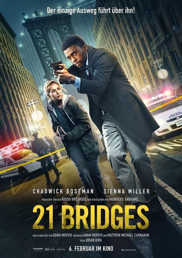 """Mörderjagd in Manhattan: Zum Kinostart des Action-Thrillers """"21 Bridges"""" verlosen wir Freikarten"""
