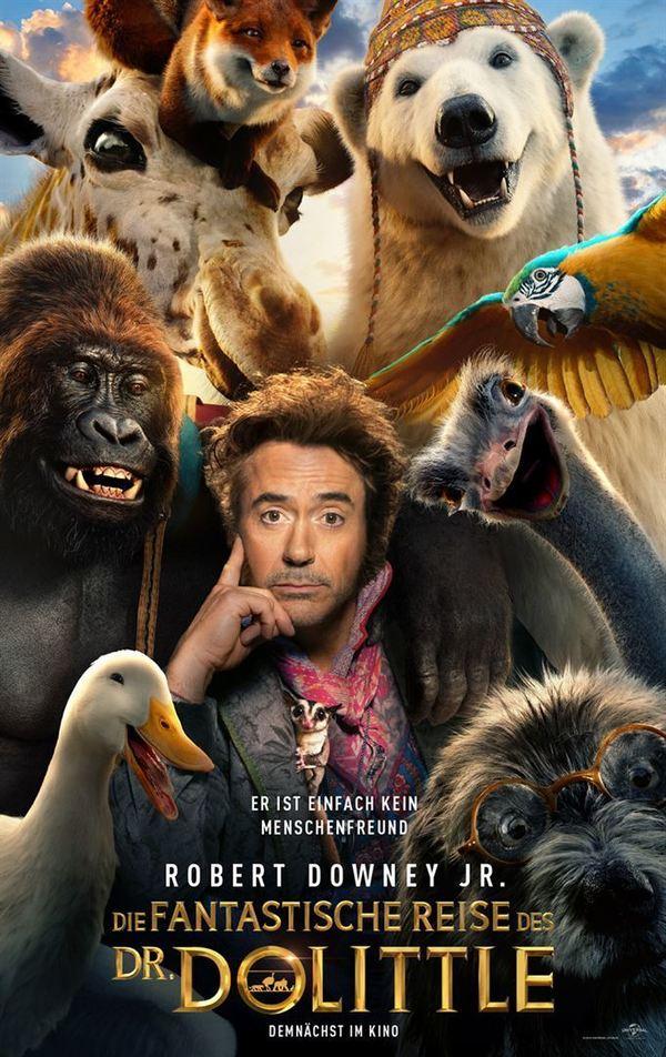 """Es wird tierisch: Zum Kinostart von """"Die fantastische Reise des Dr. Dolittle"""" verlosen wir ein tolles Fan-Paket"""