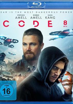 """Cops vs. Superkräfte: Wir verlosen den Sci-Fi-Thriller """"Code 8"""" auf BD"""