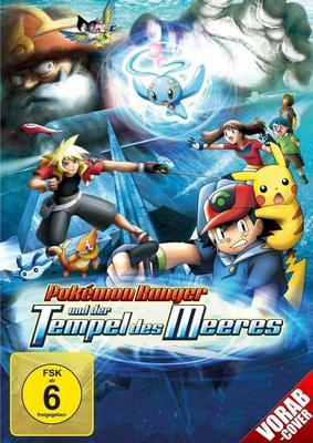 """Auf der Suche nach dem Meerestempel: Wir verlosen """"Pokémon Ranger und der Tempel des Meeres"""" auf DVD oder BD"""