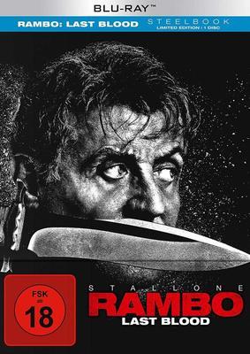 """Der Soldat wird zur Legende: Wir verlosen das Action-Fest """"Rambo: Last Blood"""" als BD Stellebook oder 4K Version"""