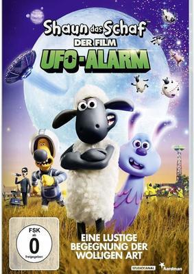 """Die Außerirdischen sind los: Wir verlosen zum Knet-Spaß """"Shaun das Schaf - Der Film: Ufo-Alarm"""" ein Fan-Paket"""