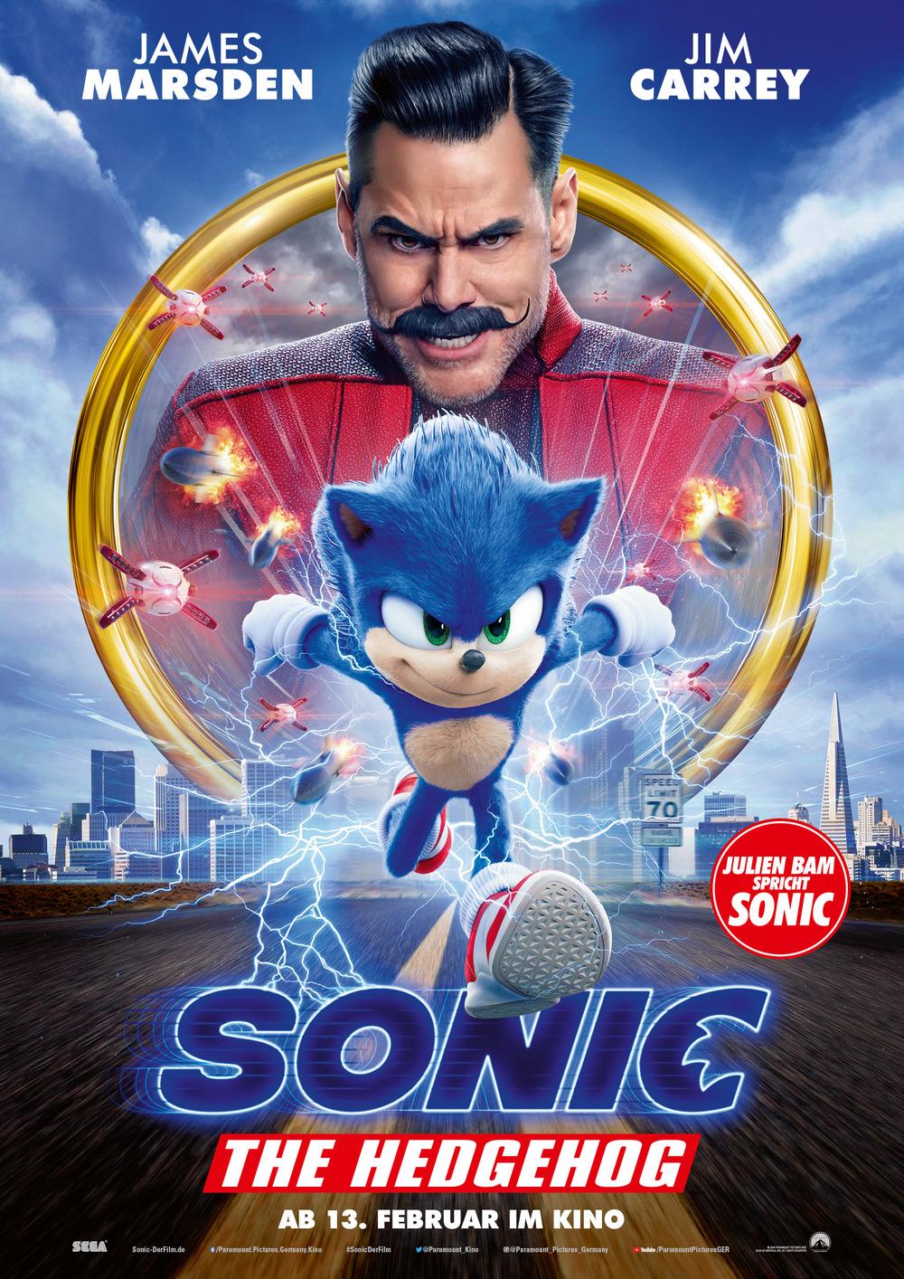 """Ein Igel gibt Gas: Zum Kinostart von """"Sonic the Hedgehog"""" verlosen wir tolle Fan-Pakete"""