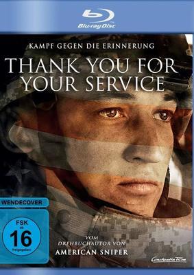 """Im Kampf gegen die Erinnerung: Wir verlosen das Kriegs-Drama """"Thank You For Your Service"""" auf BD"""