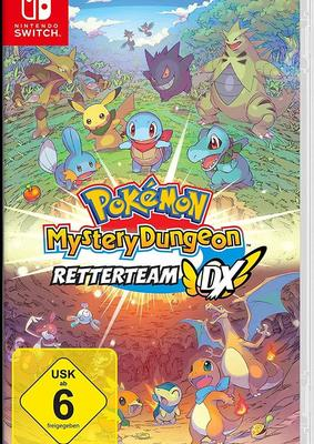 """Wir verlosen das Videospiel """"Pokémon Mystery Dungeon: Retterteam DX"""" für Nintendo Switch!"""