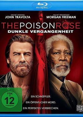 """Wir verlosen den Thriller """"The Poison Rose - Dunkle Vergangenheit"""" mit Morgan Freeman und John Travolta auf BD"""