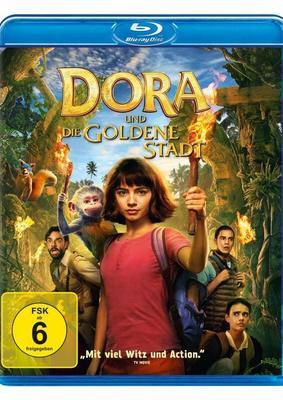 """Abenteuer für die ganze Familie: Wir verlosen """"Dora und die Goldene Stadt"""" auf BD"""