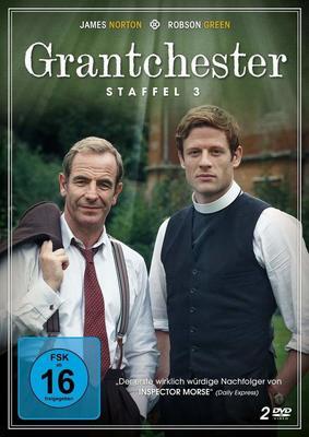 """Krimi-Fans aufgepasst: Wir verlosen Staffel 3 von """"Grantchester"""" auf DVD"""