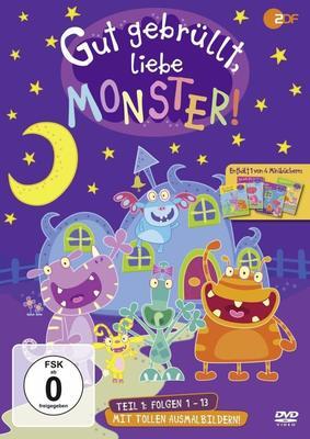 """Für die lieben Kleinen: Wir verlosen Teil eins von """"Gut gebrüllt, Liebe Monster!"""" auf DVD"""