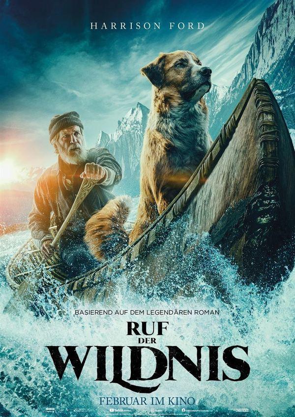 """Zum Kinostart von """"Ruf der Wildnis"""" verlosen wir den Roman zum Film sowie ein Poster"""