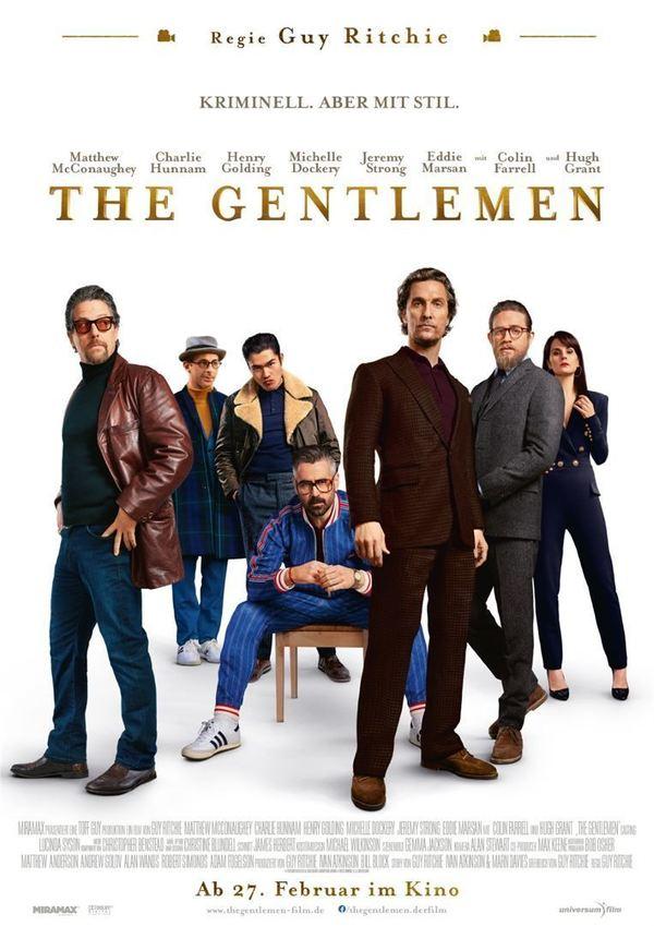 """Wir verlosen zum Kinostart von Guy Ritchies """"The Gentlemen"""" Fan-Pakete (inkl. Freikarten und Soundtrack)"""