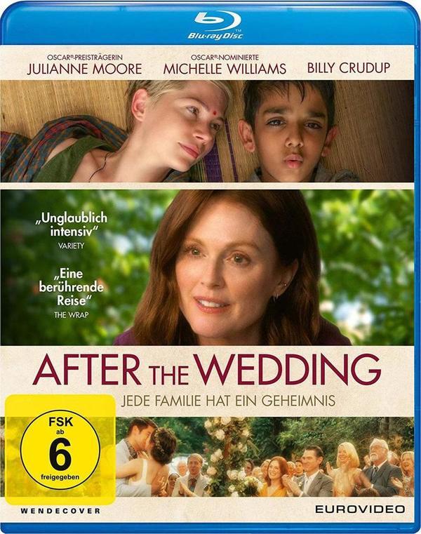 """Wir verlosen """"After the Wedding - Jede Familie hat ihr Geheimnis"""" mit Julianne Moore auf BD"""
