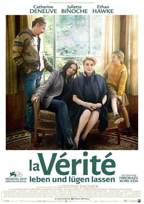 """Zum Kinostart von """"La Vérité – Leben und lügen lassen"""" mit Ethan Hawke und Juliette Binoche verlosen wir Freikarten"""